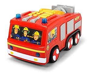 Dickie Toys 203096001 vehículo de Juguete - Vehículos de Juguete (Rojo, Camión, 3 año(s), Batería, 1,5 V, 28 cm)