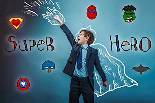 hero Party Alternative Foto Hintergrund für Baby Boy Geburtstag Party (Bithday Party)