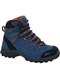 High Colorado Ultra Hike Mid High Tex Wanderschuhe Damen Anthrazit-Blau Schuhgröße 41 2018