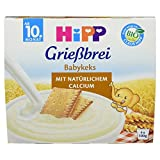 Hipp Grießbrei Babykeks, 4 x 100g, 400g - Bio
