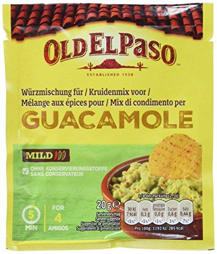 Old El Paso Würzischung für Guacamole, 20 g