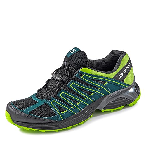 Salomon ,  Scarpe da camminata ed escursionismo uomo PHANTOM/DEEP TEAL/LIME GREEN Nero/Verde