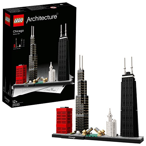 LEGO Architecture - Chicago - 21033 -  Jeu de Construction