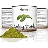 MATCHA para Cocinar 100g | Grado Culinario | Ideal para hornear recetas té verde cócteles batidos matcha latte | Bio orgánico ecológico vegavero