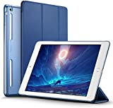iPad Mini Case, iPad Mini 2 / Mini3 Case, ESR® Ultra Slim Synthetic Leather Case with Soft TPU Bumper Edge [Corner Protection] and Magnetic Auto Wake & Sleep Function and Clear Back Shell for iPad Mini1 / iPad Mini2 / iPad Mini3 (Ming Blue)