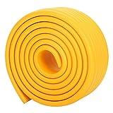 6,5 ft extra breit und dick sichere Ränder und Eckenschutz Kissen. Baby und Beweis Tisch und Möbel Sicherheitsschutz Kind - amerikanisch gelb