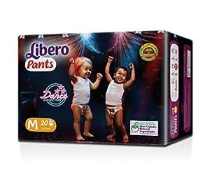 Libero Medium Size Diaper Pants (20 Counts)