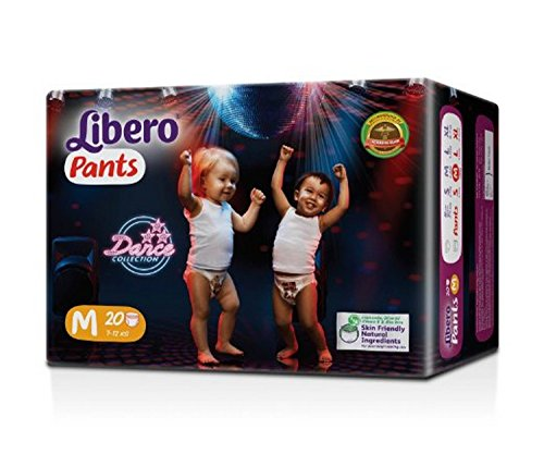 Libero Medium Size Diaper Pants (20 Counts)