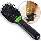 Jago - Brosse à cheveux ionique avec fonction supplémentaire de massage à vibrations
