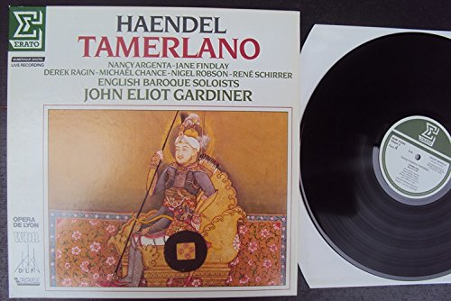 Tamerlano. John Eliot Gardiner, Argenta, Findlay, Ragin, for sale  Delivered anywhere in UK