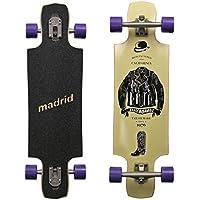 Madrid Longboard Trance & Weezer & Tombstone & Cloud, Drop-Through & Topmount Komplettboard Freeride Cruiser Boards