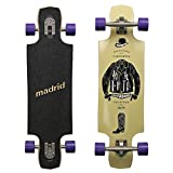 Madrid MADE IN USA Twin-Tip Longboard, Drop-Through - Standart, Riot Tailored, Komplettboard Freeride Cruiser Board
