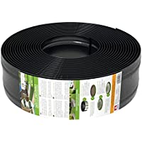 AMISPOL® Flexible Borde de Jardín, Bordillo Escondido - 125/4 mm, longitud 25 m