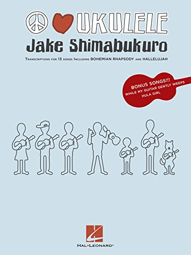 Jake Shimabukuro - Peace Love Ukulele Songbook (English Edition ...