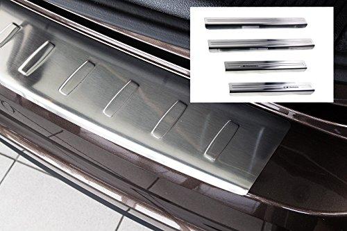Preisvergleich Produktbild Einstiegsleisten & Ladekantenschutz für VW Sharan 2 II / Alhambra 2 II ab 2010-