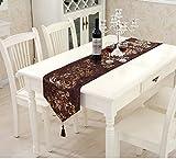 Tavolo moderno Banner da tavolo in stile Banner Cucina Tavolo Banner Modern Luxury Tovaglia Moda semplice Banner Tavolo (tabella non inclusa)( dimensioni : 33*270cm )