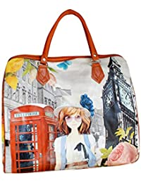 Tiger Printed Picnic Travel Small Bag