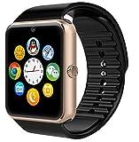 Best Los teléfonos de HTC Watch - mokebao portátil Bluetooth Smart Watch GT08inteligente salud muñeca Review