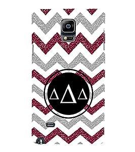 EPICCASE Pyramids Mobile Back Case Cover For Samsung Galaxy Note 4 EDGE (Designer Case)