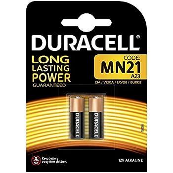 Duracell Specialty Pilas alcalinas MN21, paquete de 2