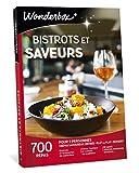 Wonderbox - Coffret Cadeau couple - BISTROTS ET SAVEURS - 700 repas en brasseries de caractère