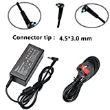 SIKER 19.5V 2.31A 45W Ac Adapter/Power Cord Supply For HP pavilion 11 13 15;HP elitebook folio 1040 g1;HP stream 13 11 14;hp touchsmart 11 13 15;hp spectre ultrabook 13