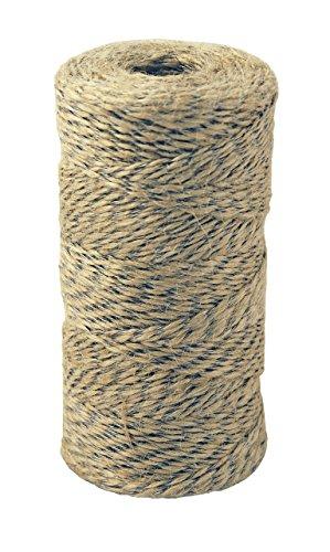 Chapuis fju1Schnur Armee Landwirtschaftlichen Jute/Stahldraht, beige, 250g/190M/Ø 1mm