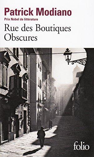 Rue des Bontiques obscures (Folio) por Patrick Modiano