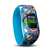 Garmin Vívofit jr. 2, Wasserdichte Action Watch für Kinder – im Marvel Avengers Design mit Abenteuer-App, Uhrfunktionen, Schrittzähler und Batterielaufzeit von bis zu 1 Jahr