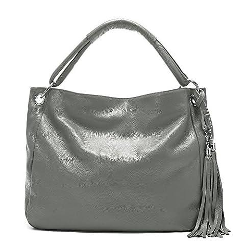 Mode lange Quaste Handtasche/ schräge Kreuz Damen Schulter Handtasche/ weiche Ledertasche -A