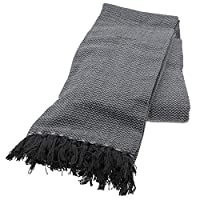 Country Club Opus 100% Cotton Grey Throw 170 x 200cm Sold & Dispatched By Katie Malone House & Home