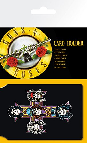 GB eye LTD, Guns N Roses, Logo, Porte Carte