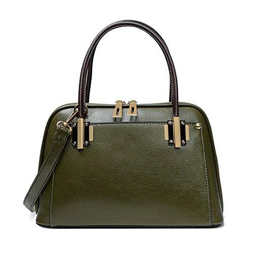 Mefly Der Neue Frühling Und Sommer Litchistria Western Style Shell Tasche Tasche green