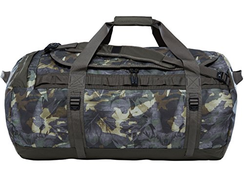 The North Face Base Camp Duffel L English Green Tropical Camo/New Taupe Green (North Green Face)