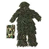 Woodland Camo De Camouflage 3D Arbre Costume Adultes De Chasse
