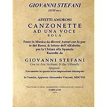 Giovanni Stefani (XVII sec.) - Affetti Amorosi - Venetia 1621
