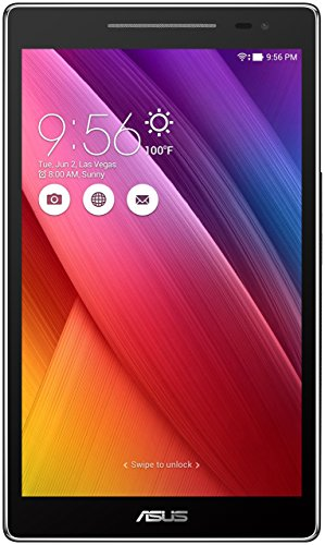 Asus ZenPad Z380 M-6 A041 A 16 GB Schwarz, Tablet-PC (Mini-Tablet, Android 6.0, schwarz, Lithium-Polymer)