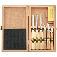 Kirschen 3437000 - Juego de herramientas para tallar madera