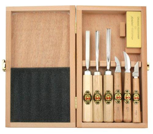 Kirschen 3437000 - Juego herramientas tallar madera
