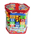 #3: Planet Of Toys Animal Park Funny Building Blocks Set