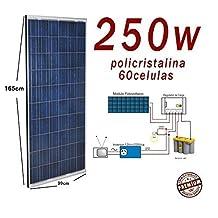 Placa solar 250w panel solar 24v Fotovoltaico Polycrystalline