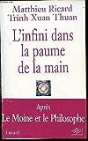 L'infini dans la paume de la main, du Big Bang à l'Eveil. - Nil éditions - 01/01/2000