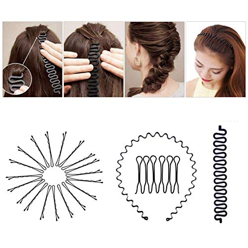 Zoom IMG-1 accessori per capelli tipi set