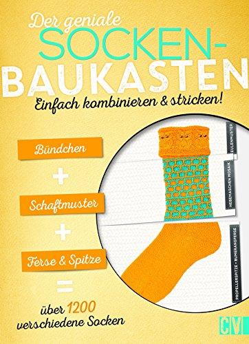 Der geniale Socken-Baukasten: Einfach kombinieren & stricken! (Socken Stricken Einfache)