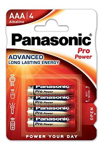 Panasonic Pro Power Alkali-Batterie (Micro AAA, LR03, 4er Pack)