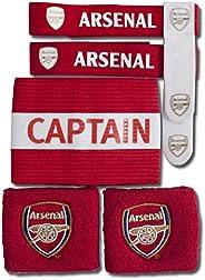 Arsenal FC Fútbol oficial escudo deportivo juego de accesorios