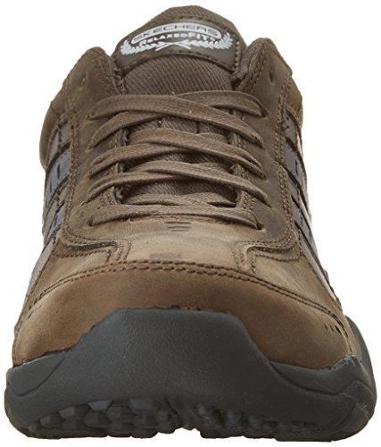 Skechers Larson-Nerick, Sneaker Uomo Grigio (Charcoal)
