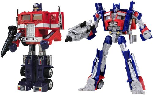 Transformers TF Chronicle CH-01 Action Figuren Set: The Supreme Commander Set (Optimus Prime Convoy G1 & Movie)