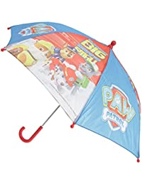 Chanos Paw Patrol Safety Runner Polyester Taslon Folding Umbrella, 37 cm, Blue Paraguas plegable