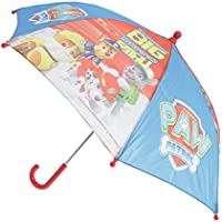 Chanos Paw Patrol Safety Runner Polyester Taslon Folding Umbrella, 37 cm, Blue Paraguas plegable